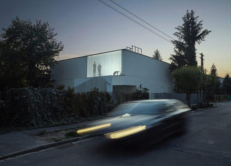 Dom Energooszczędna Kostka, Wrocław. Projekt: Kameleonlab. Zdjęcia: Gracjan Donarski, Kuba Woźniczka