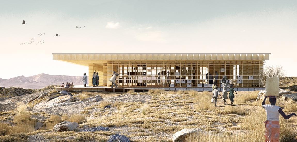 Projekt młodych architektów z Polski wygrał międzynarodowy konkurs Karia Looro!