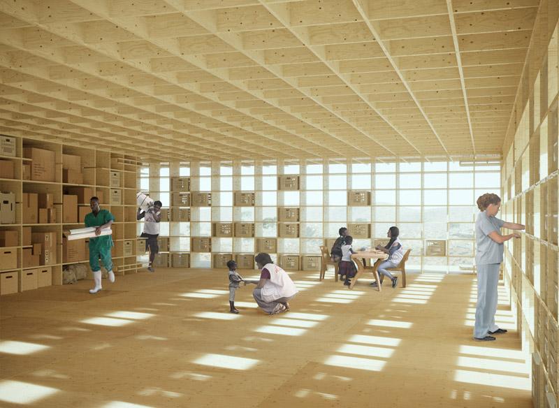 Składane Schronienie Kryzysowe. I nagroda w konkursie: Kaira Looro Architecture Competition