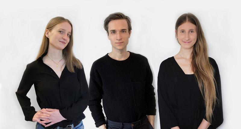 Zwycięski zespół: Agnieszka Witaszek, Kamil Owczarek, Aleksandra Wróbel