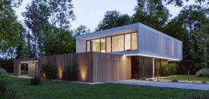 Nowoczesna rezydencja na zadrzewionej i urokliwej działce. BOX House projektu KONZEPT Architekci.