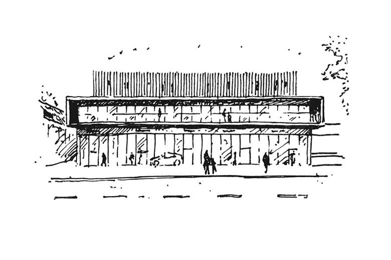 ibis Styles - Metamorfoza hotelu Laureat z lat 80-tych, Tomaszów Lubelski. Projekt: Mateusz Tański & Associates