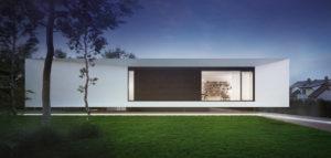 Efektowna forma i dynamiczne kontrasty. Dom Flamingo House biura STOPROCENT Architekci