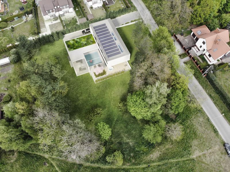 Dom Flamingo House. Projekt: STOPROCENT Architekci