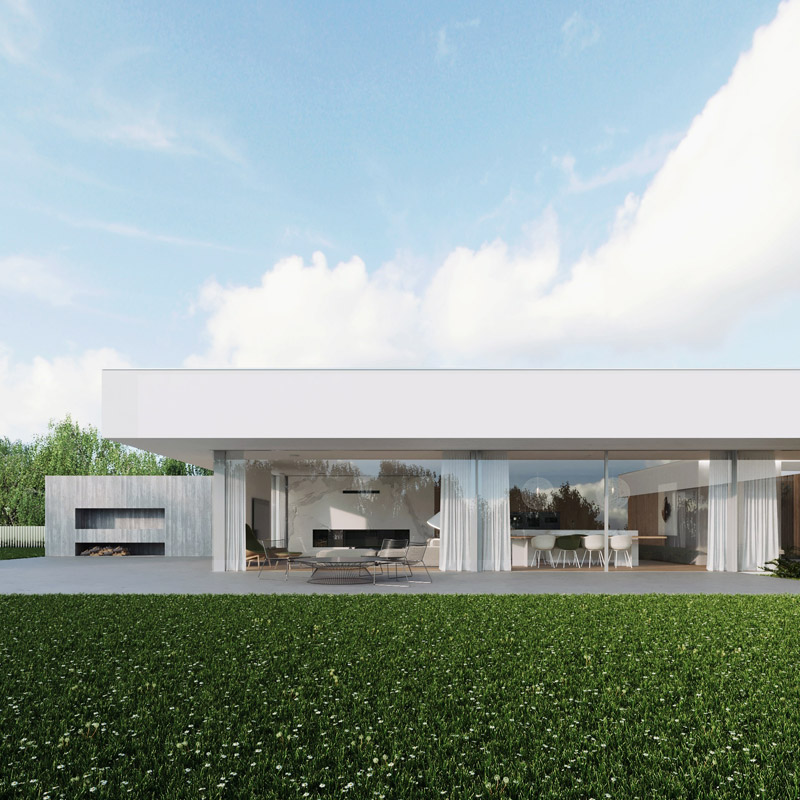 Dom CHO, okolice Lublina. Projekt:081 Architekci