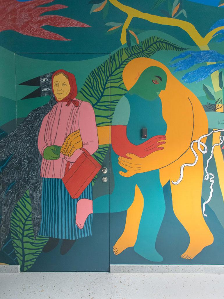 Concordia Design, Wrocław - murale i malowidła Alicji Białej