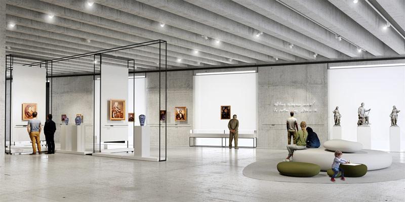 Projekt wystawy w Muzeum Książąt Lubomirskich we Wrocławiu. I Nagroda w konkursie: STUDIO 1:1