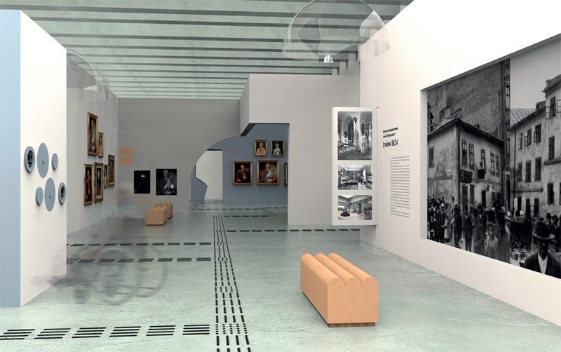 Projekt wystawy w Muzeum Książąt Lubomirskich we Wrocławiu. II Nagroda równorzędna: ONTO Kaja Nosal