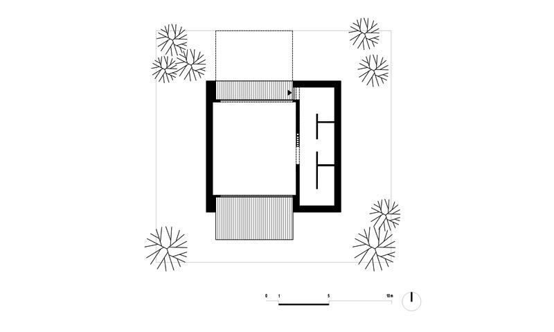 Dom w Kolorze. Projekt: PAG | Pracownia Architektury Głowacki, Domy z Głową