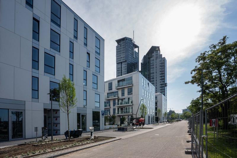 Yacht Park - budowa, Gdynia. Projekt: ARCH-DECO