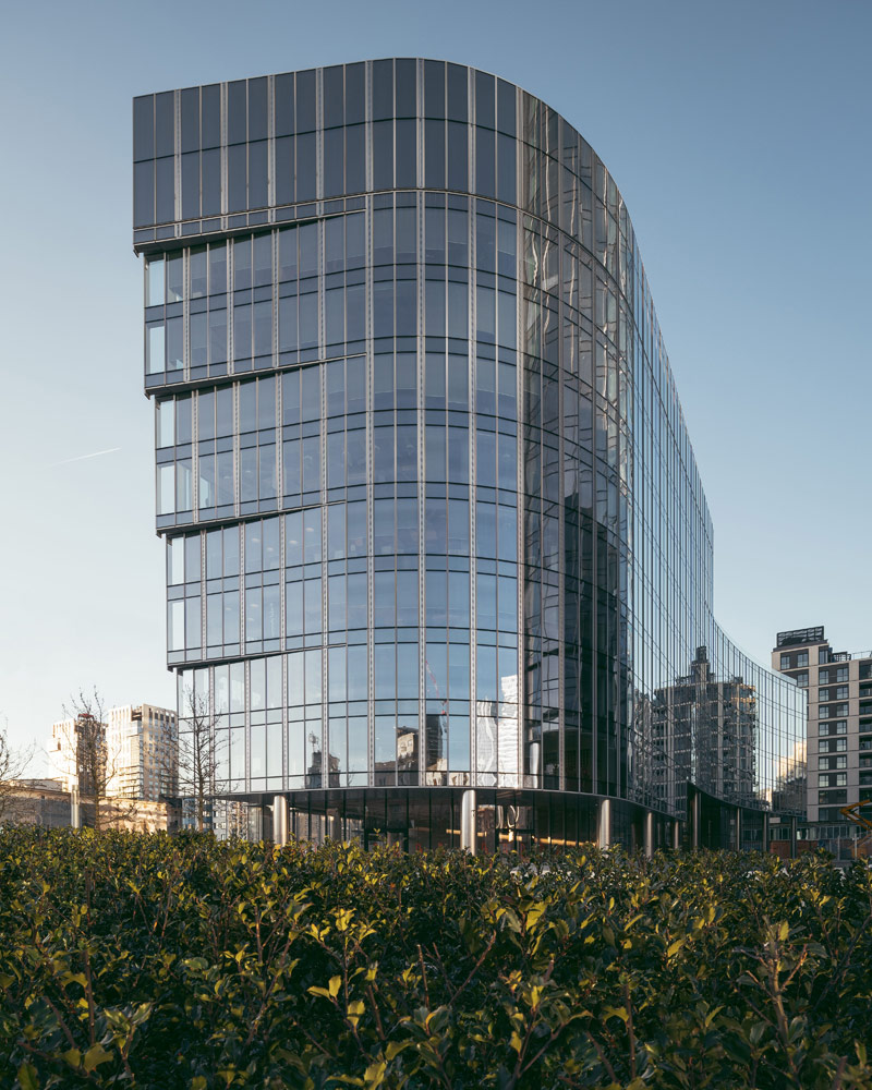 Mennica Legacy Tower, Warszawa. Architektura: Goettsch Partners, Epstein. Zdjęcie: Nate Cook