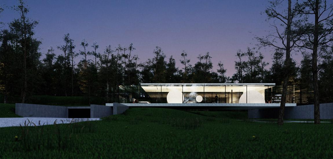 House Wide Shut pracowni Grupa Plus Architekci nagrodzony Red Dotem