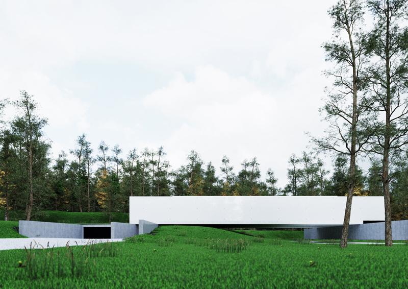 "Dom ""House Wide Shut"". Projekt: Grupa Plus Architekci"
