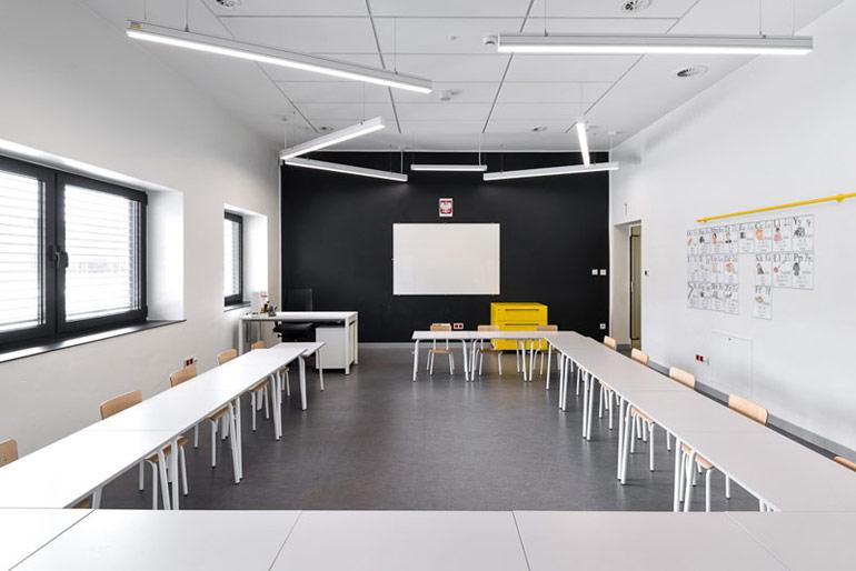 Szkoła Podstawowa w Miliczu. Projekt: PORT. Zdjęcia: Stanisław Zajączkowski