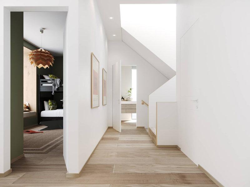 Ekskluzywny dom nad morzem. Projekt wnętrz: ZUP-A | Zakład Usług Projektowo-Architektonicznych