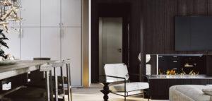 Eleganckie mieszkanie w stolicy Włoch projektu biura ZUP-A