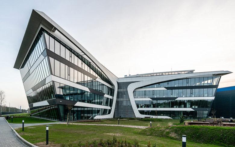 Biurowiec Grupy Neuca. Architektura budynku: Grupa Projektowa Port