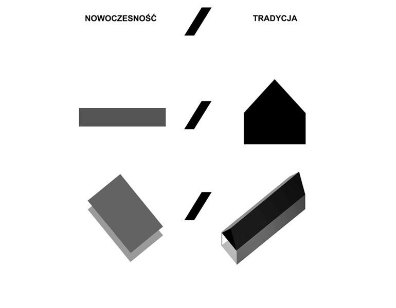 """Dom """"Latająca Stodoła"""". Projekt:Autograf Studio"""
