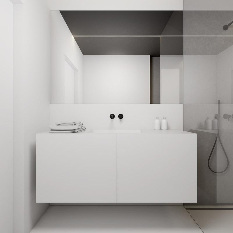 Mieszkanie na Pradze. Projekt wnętrz:INUTI - Łukasz Rząd