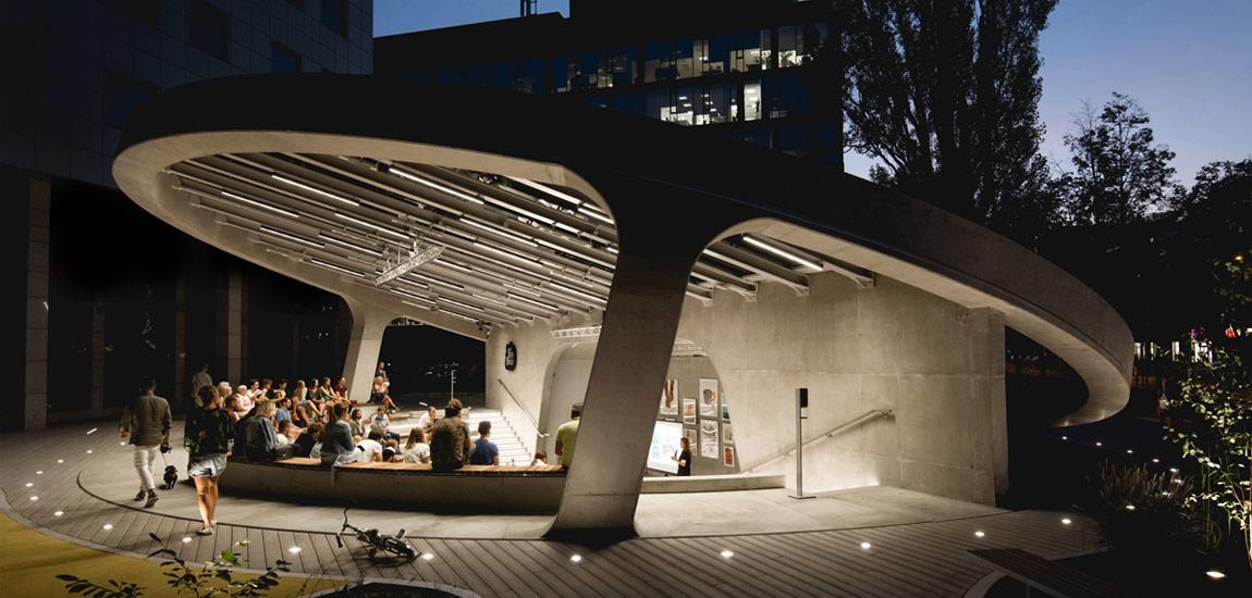 Niezwykły amfiteatr na warszawskim Służewcu – otwarta przestrzeń dla ciekawych spotkań