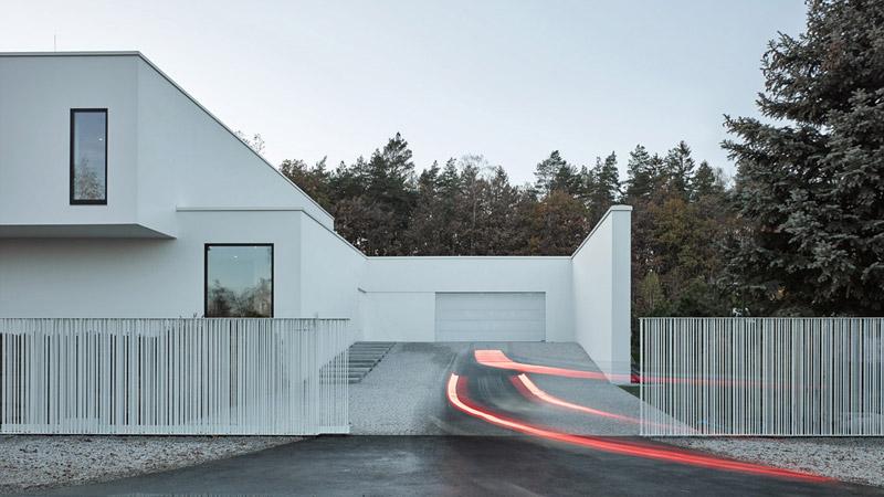 Dom na Dolnym Śląsku. Projekt:Moomoo Architects. Zdjęcia: Grzegorz Pędzich