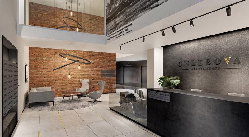 Apartamentowiec Chlebova w Gdańsku. Projekt:Roark Studio
