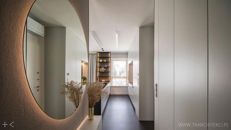 Mieszkanie na warszawskim Marymoncie. Projekt wnętrz:TK Architekci