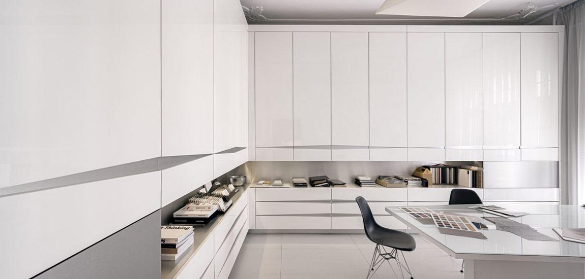 Niebagatelna przestrzeń – wnętrza pracowni projektowej Jankowski i Opyrchał