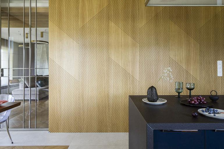 Wnętrzarskie yin i yang w aranżacji domu. Projekt: Magdalena Kostrzewa-Świątek | TISSU Architecture. Zdjęcia: Yassen Hristov