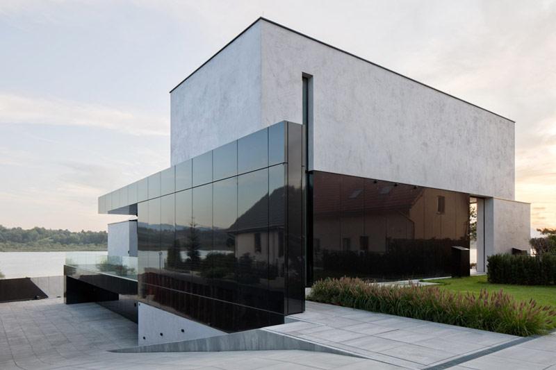 Dom RE: LAKESIDE HOUSE. Projekt:REFORM Architekt | Marcin Tomaszewski. Zdjęcia:Piotr Krajewski
