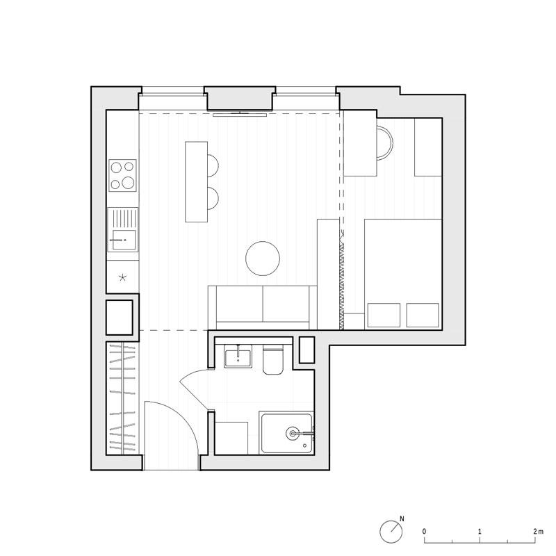 Studio z Kotarą, Poznań. Projekt wnętrz mieszkania: Piotr Pańczyk   CZY Architektura