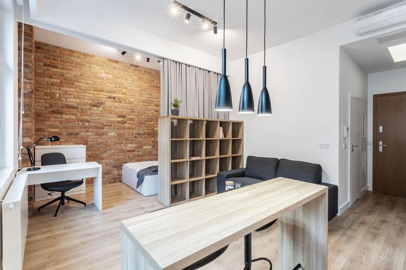 Studio z Kotarą, Poznań. Projekt wnętrz mieszkania: Piotr Pańczyk   CZY Architektura. Zdj. Jakub Troszczyński (InOutPhoto)
