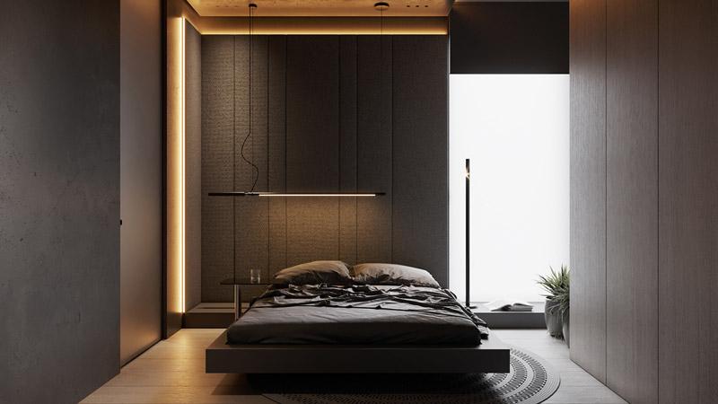 Apartament w Warszawie. Projekt wnętrz:hilight.design