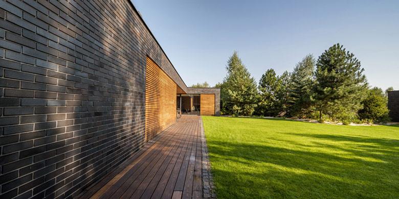 Dom S. Projekt: S3NS Architektura - Igor Kaźmierczak. Zdjęcie: Maciej Lulko