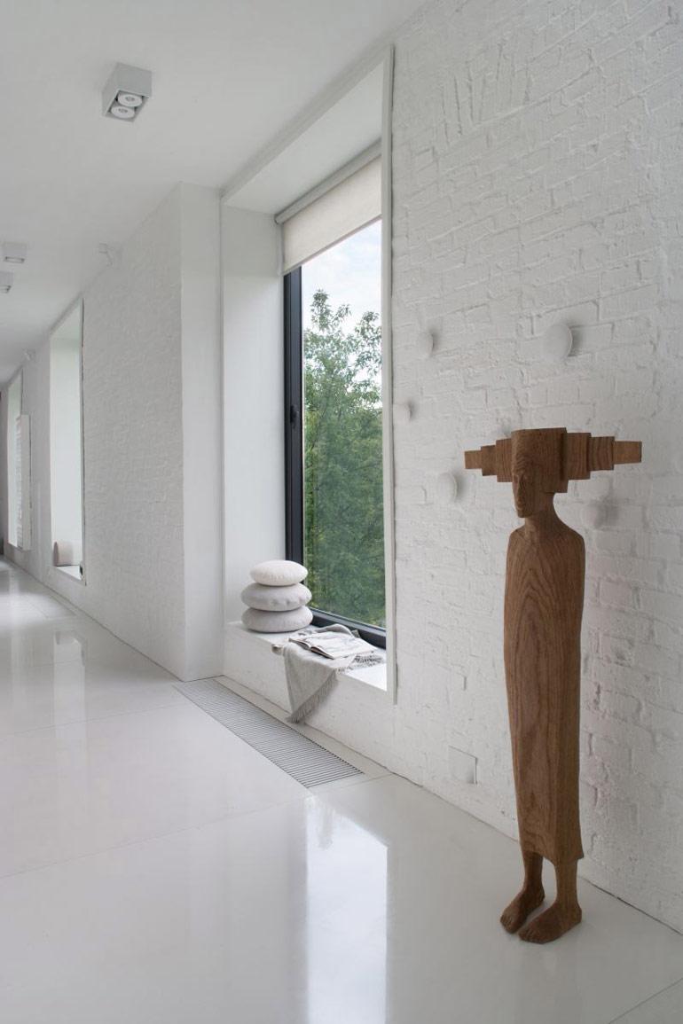Apartament w starej kamienicy. Projekt wnętrz: Joanna Kulczyńska-Dołowy | Kulczyński Architekt. Zdjęcia: Hanna Długosz