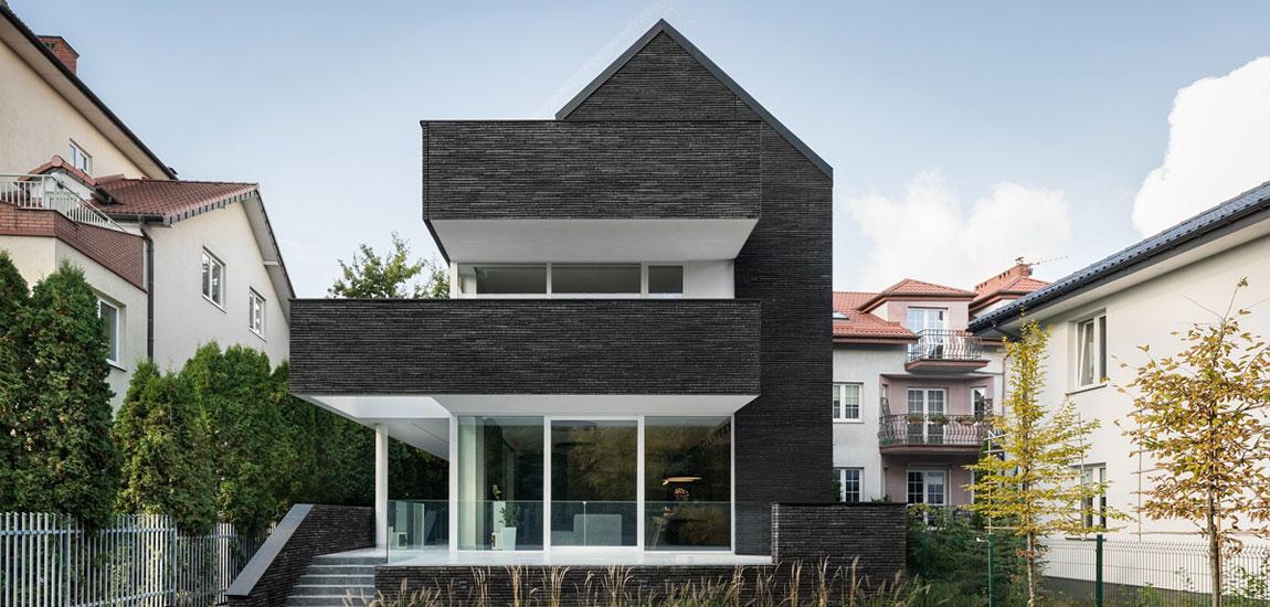 Dom z Grafitu pracowni PAWEL LIS ARCHITEKCI