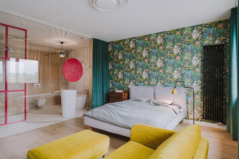 Aranżacja wnętrz mieszkania w Warszawie. Autorka projektu: Agata Krzemińska | Pracownia A+A. Zdjęcia: PION Studio