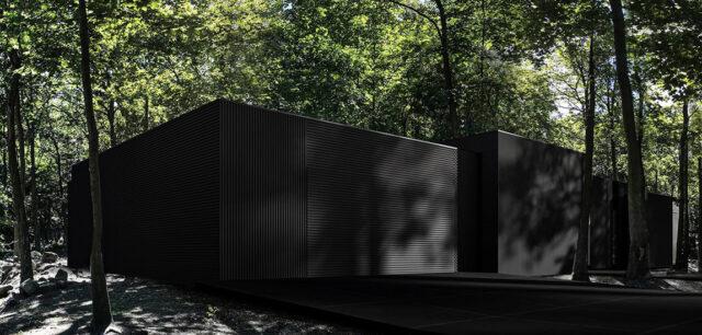 Zanurzony w krajobrazie dom RE: DARK HOUSE – najnowszy projekt pracowni REFORM Architekt