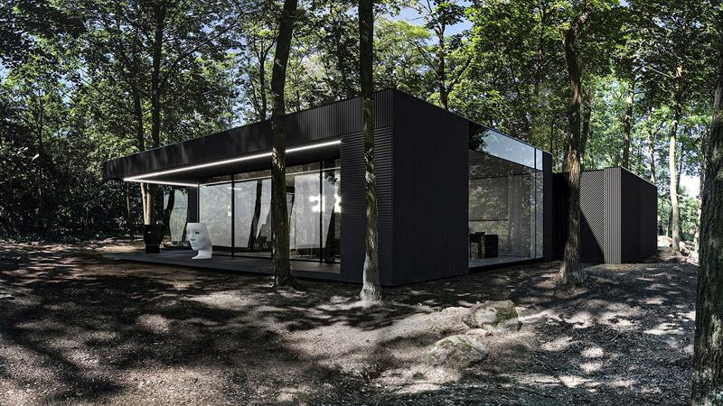 Dom RE: DARK HOUSE. Projekt:REFORM Architekt | Marcin Tomaszewski