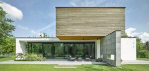 Dom + w zakolu Jeziorki projektu STOPROCENT Architekci