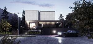 Nowoczesna przebudowa i rozbudowa domu pracowni CDF Architekci