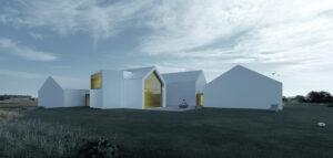 Minimalistyczny dom na Jurze inspirowany otaczającym krajobrazem