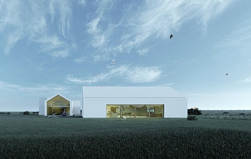 Dom na Jurze. Projekt:Górnik Architects