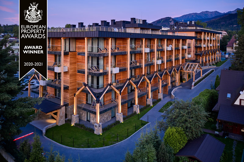Aparthotel w Zakopanem. Projekt: Karpiel Steindel Architektura
