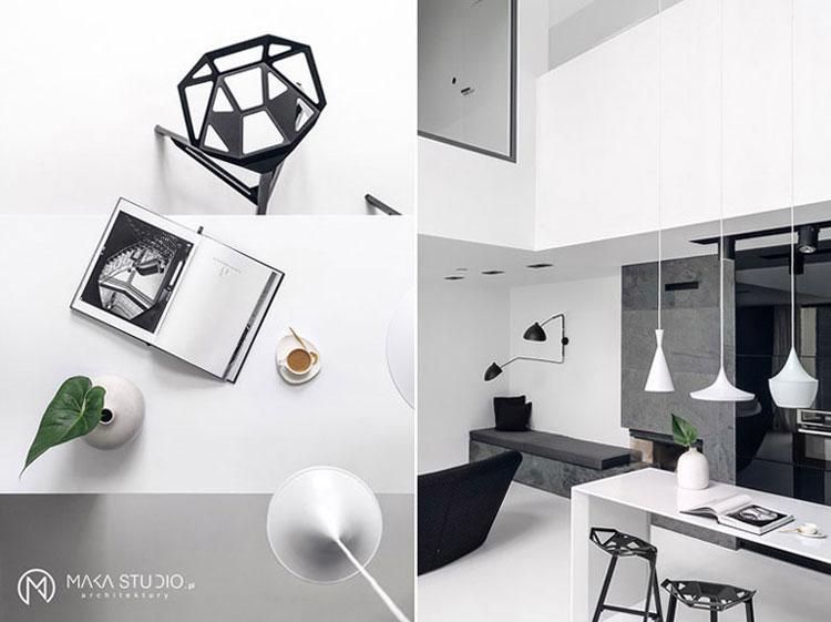 Dom nad morzem. Projekt:MAKA Studio. Zdjęcia wnętrz: Tom Kurek