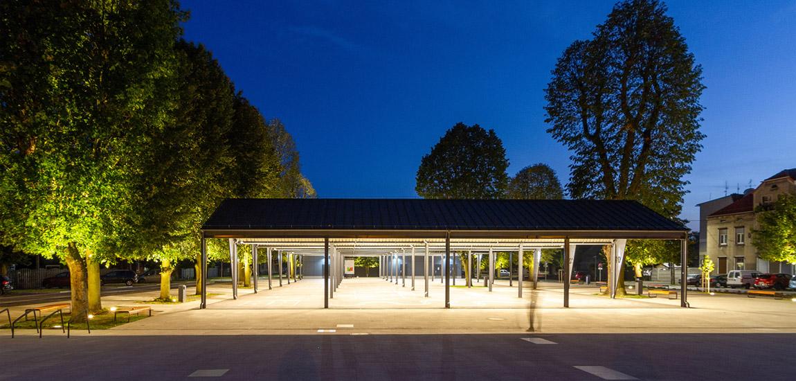 Rynek w Wieleniu. Projekt: Neostudio Architekci. Zdjęcia: Paweł Świerkowski, Bartosz Jarosz