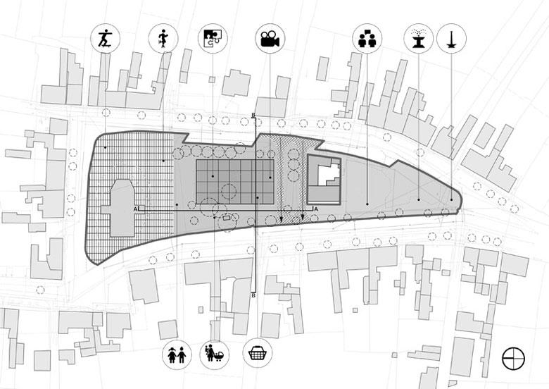 Rynek w Wieleniu. Projekt: Neostudio Architekci
