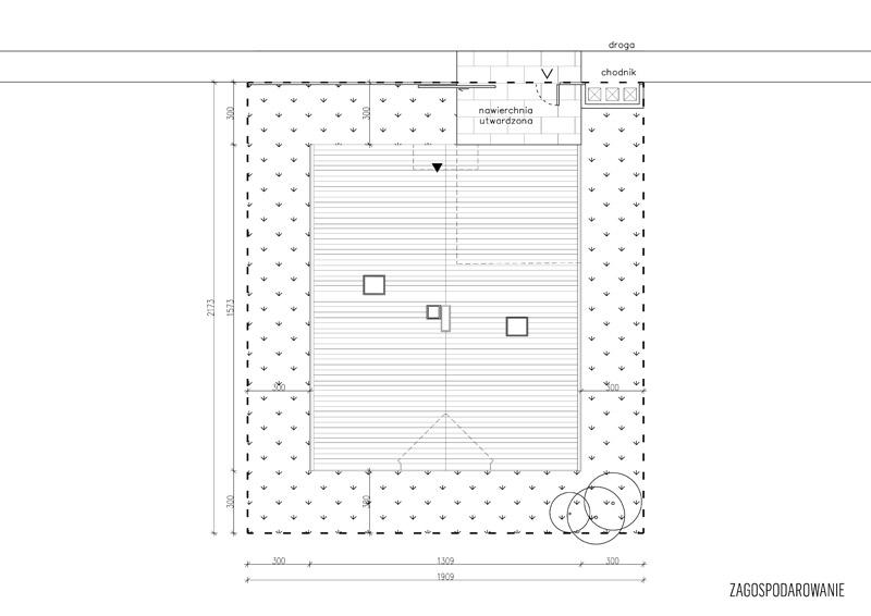 Dom z Obejściem. Projekt:PAG | Pracownia Architektury Głowacki|Domy z Głową
