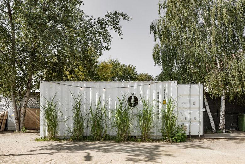 KONTENERART 19, Poznań. Projekt:wiercinski-studio – Adam Wierciński. Zdjęcia: Przemysław Turlej