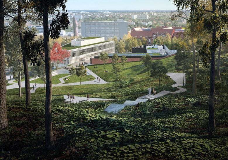 Centrum Kompetencji STOS na Politechnice Gdańskiej. Projekt:Arch-Deco. Wizualizacje: Pote Graphics